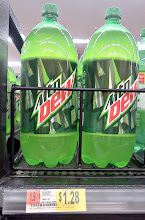 Photo: My husband just has to have his Mountain Dew, I don't care for it but he doesn't ask for much.Now to grab the Poise products.