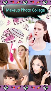 Makeup fotografická koláž - náhled