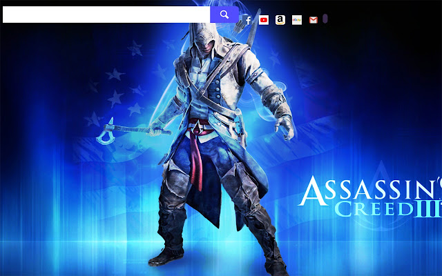 Assassins Creed 3 Game Hd Wallpapers New Tab