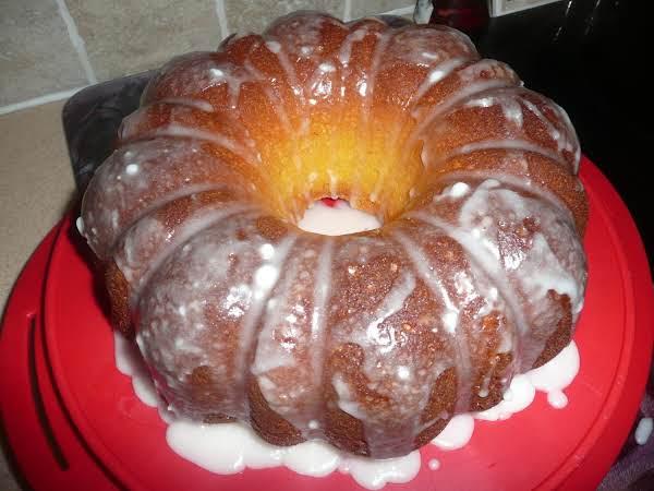 Pucker Up Lemon Pound Cake