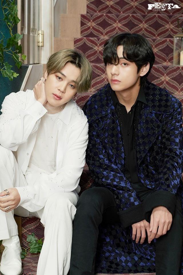 BTS Jimin and V