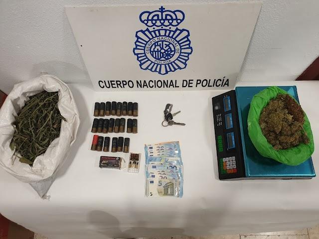 Material intervenido por la Policía Nacional.