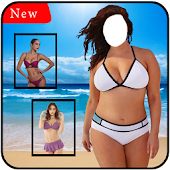 Girl Bikini Suit Photo Editor 2018