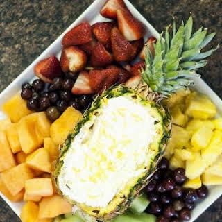 Pineapple & Citrus Fruit Dip.