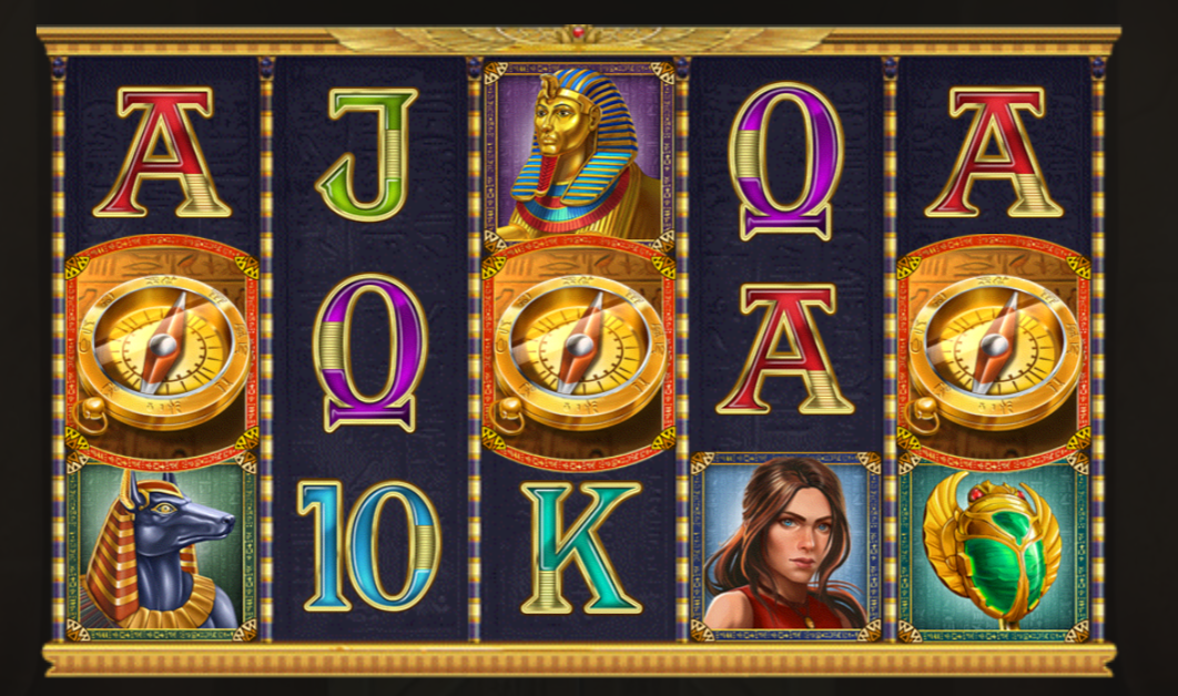 Cat Wilde And The Doom Of Dead is a slot game with a strong Egyptian theme