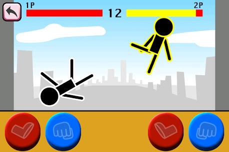 Fighting games Mokken: stick man battle 5