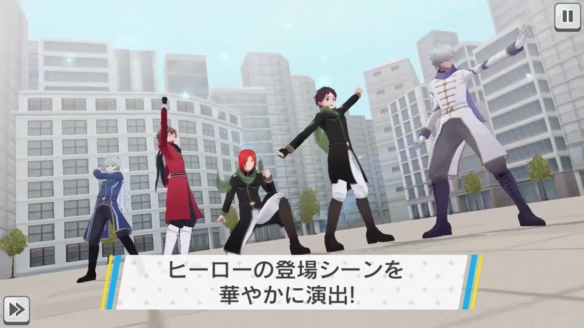 【画像】ヒーローの登場シーン