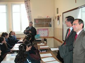 Photo: Jean-Paul Charles, Frédéric Gautier et Jean-Paul Ghoneim, Conseiller de Coopération et d'Action culturelle au Consulat général de France à Jérusalem