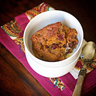 Cranberry-Pumpkin Pudding Cake