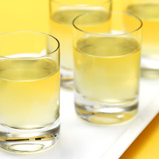 Meyer Lemon Liqueur (homemade Limoncello).