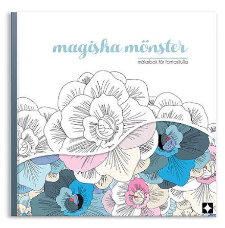Magiska mönster - målarbok för fantasifulla