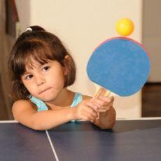 Обучение детей настольному теннису