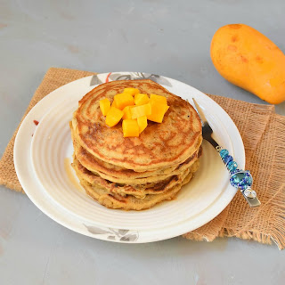Mango Pancakes Recipes.
