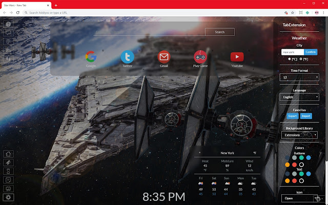 Star Wars Hd Wallpapers And New Tab