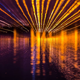 Light trail by Aldea George - Abstract Light Painting ( abstract, water, nice, light, shadows )