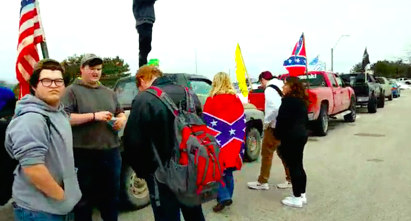 Different strokes for different folks in outrage over Confederate flags at Michigan schools