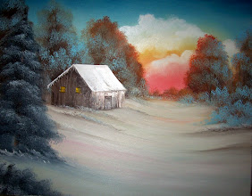 """Photo: 0812 Lonely Retreat. Oil on canvas. Frame: no. Price: 18"""" x 20"""" $249.00, 16"""" x 20"""" $219.00"""