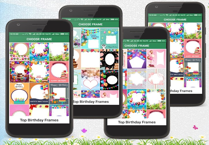 This App Is All In One Which Provide Happy Birthday FrameBirthday ImagesBirthday StickersBirthday Photo Card Pictures