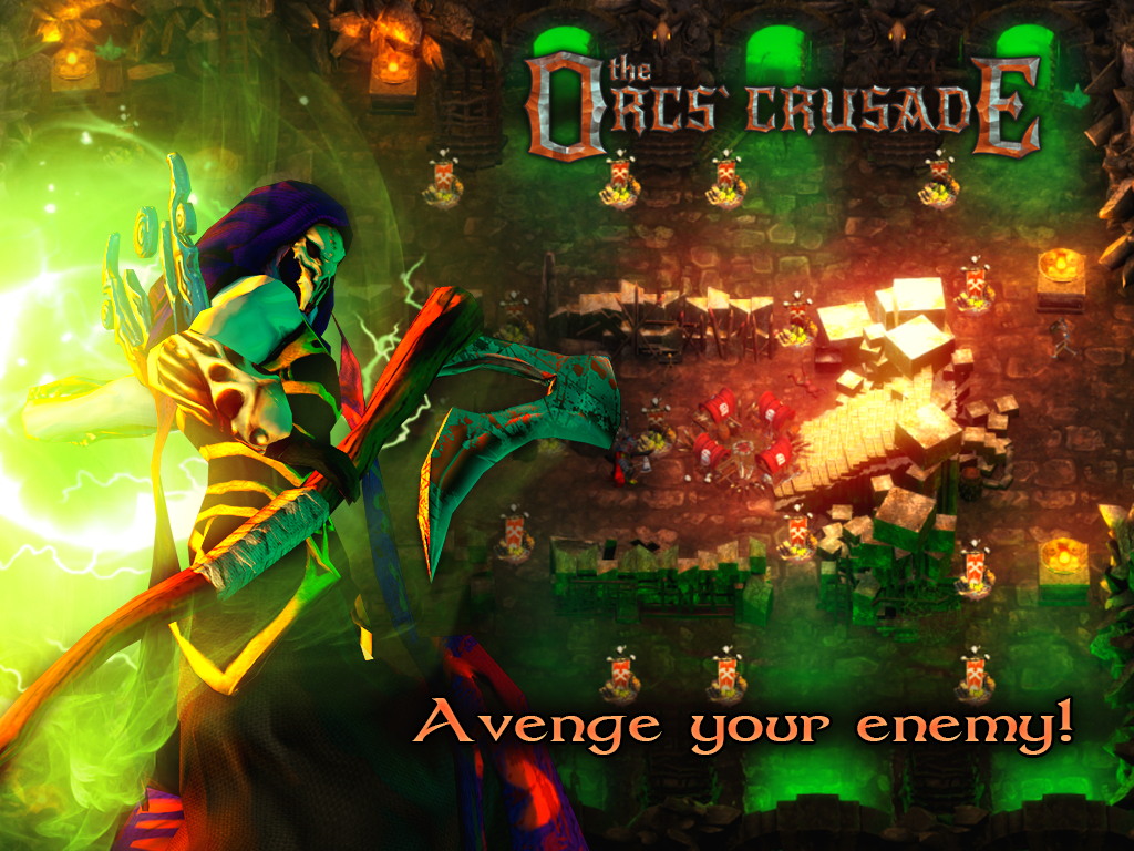 The orcs crusade – Capture d'écran