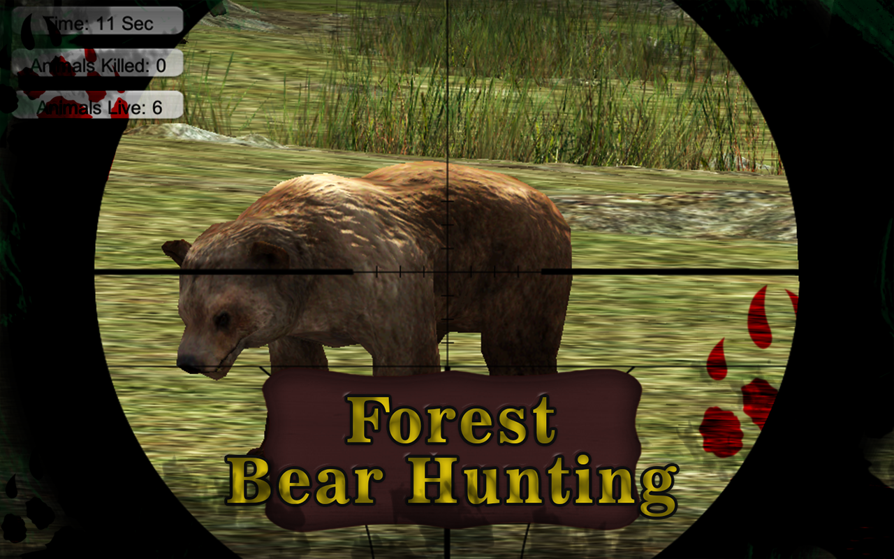 Forest Bear Hunting- screenshot