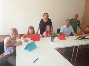 Photo: Kinder - Gemeinderat - 17.7.14 Foto: ZVG