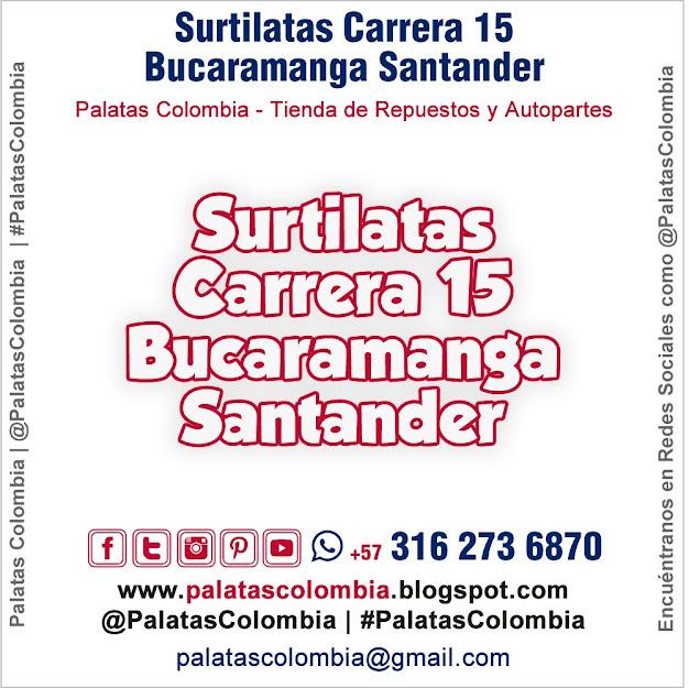 Surtilatas Carrera 15 Bucaramanga Santander