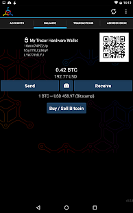 Mycelium Bitcoin Wallet- screenshot thumbnail