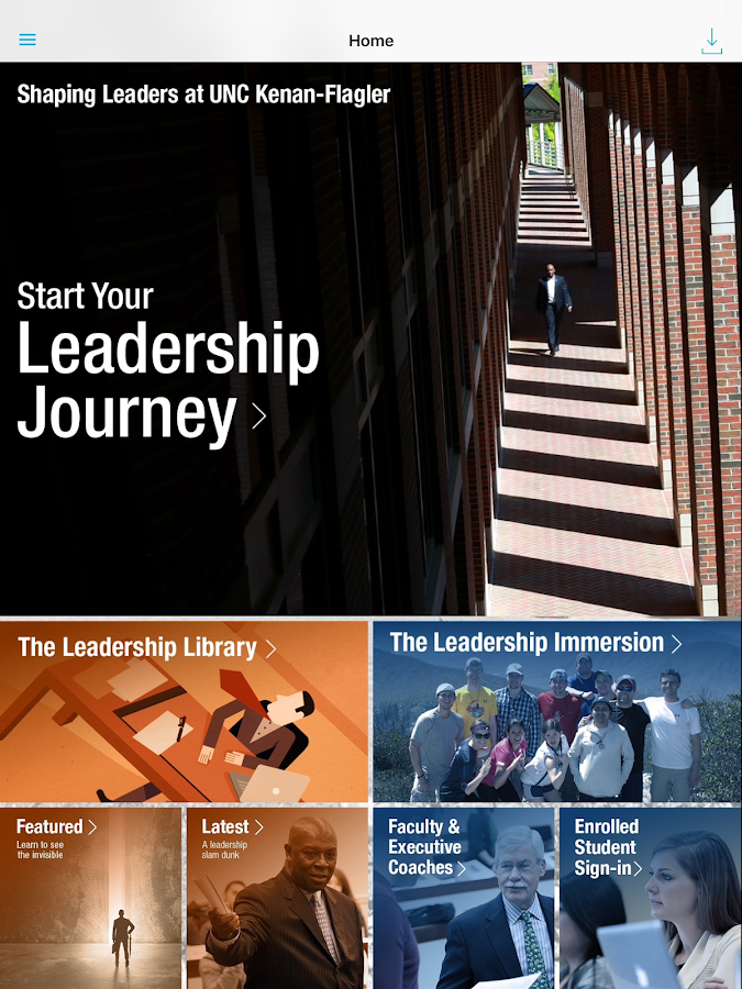 The Leadership App- screenshot