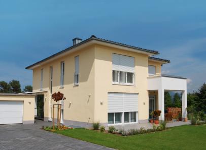 Dom jednorodzinny z dachem płaskim