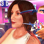 Girls Haircut, Hair Salon & Hairstyle Games 3D 1.7