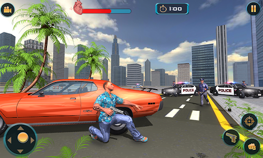 Gangster New City Car Driver Open World - náhled