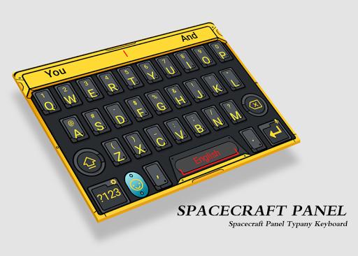 Spacecraft Panel Typany Theme  screenshots 1