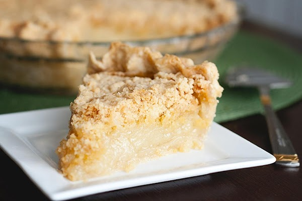 Vanilla Crumb Pie Recipe
