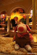 Photo: (Year 3) Day 49 - Pippa Waiting to Check in at Bellagio