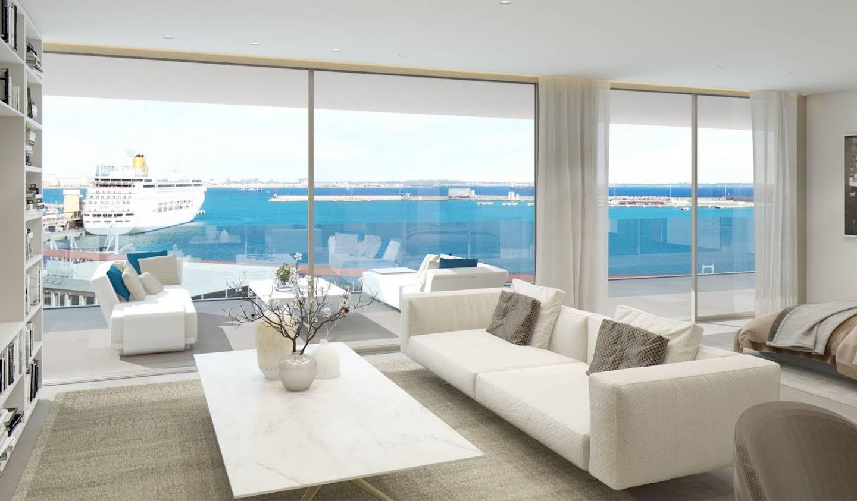 Appartement contemporain avec terrasse et piscine Palma
