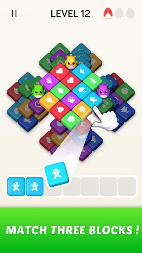 Block Blast 3D : Triple Tiles Matching Puzzle Game 3.40.009 screenshots 1
