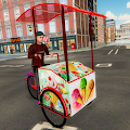 City Ice Cream Delivery Boy: Virtual Life Game 3D
