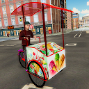City Ice Cream Delivery Boy: Virtual Life Game 3D APK