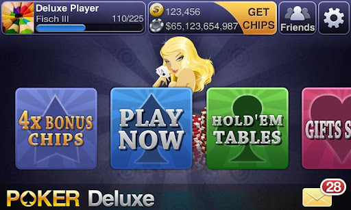 Texas HoldEm Poker Deluxe screenshot 1