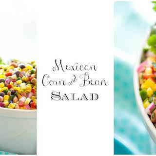 Mexican Corn and Bean Salad.