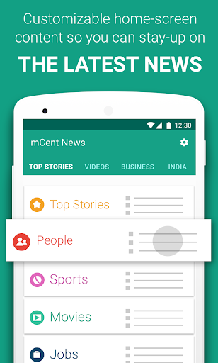 mCent Browser - Fast and Safe plus Free Data  screenshots 4