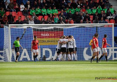 Duitsland boekt knappe en krappe zege tegen Spanje op WK vrouwenvoetbal