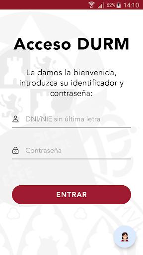Acceso DURM screenshot 1