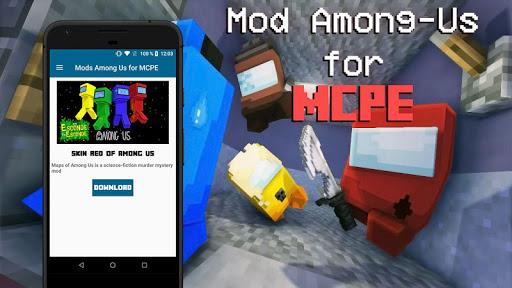 Mod of Among Us for Minecraft PE screenshot 3
