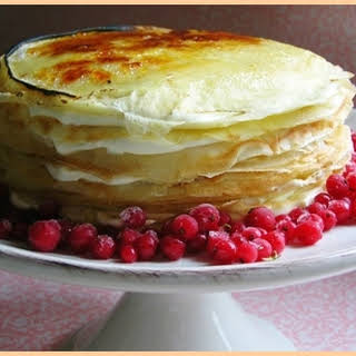 The Real Crepe Cake.
