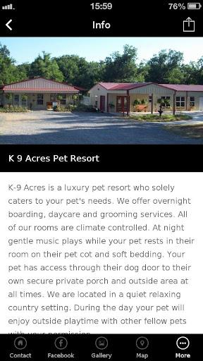 K 9 Acres Pet Resort