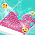 Clavier pour Android rose