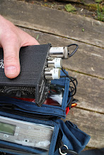 Photo: Mixer output plugs also cut into half length