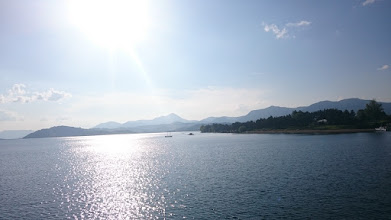 Photo: good-bye, ice-cold lake liptovska mara, good-bye