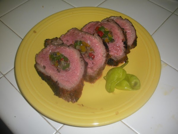 Tommys Delicious Stuffed Tri Tip!! Recipe